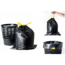 ПНД Мешки с завязками 60л/20шт 25мик