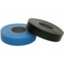 Изолента ПВХ  15х20 (синяя. черная) ЭКОНОМ