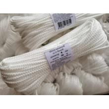 Шнур вязанный  4мм / 30м белый