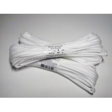 Шнур вязанный 4 мм/ 10м белый