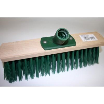 Щетка (жесткая) для уборки улиц (колодка 30см) пласт/крепеж или металл/крепеж
